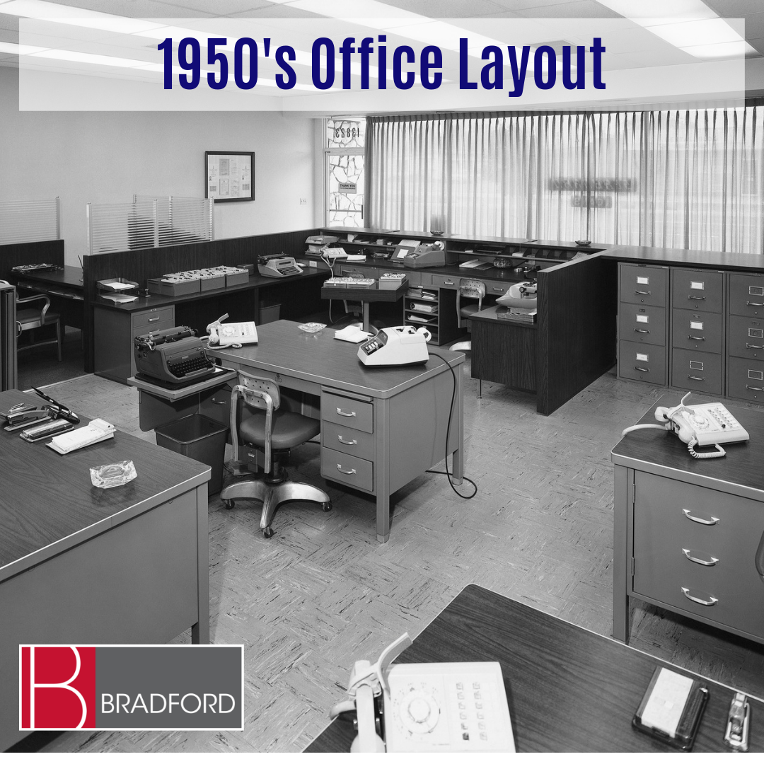1950s Office Layout