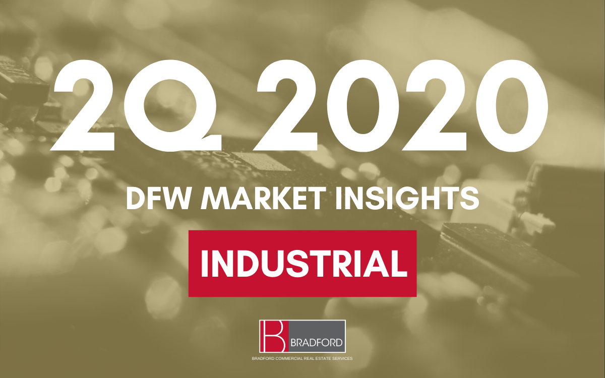 DFW Office Industrial Insights 2Q 2020
