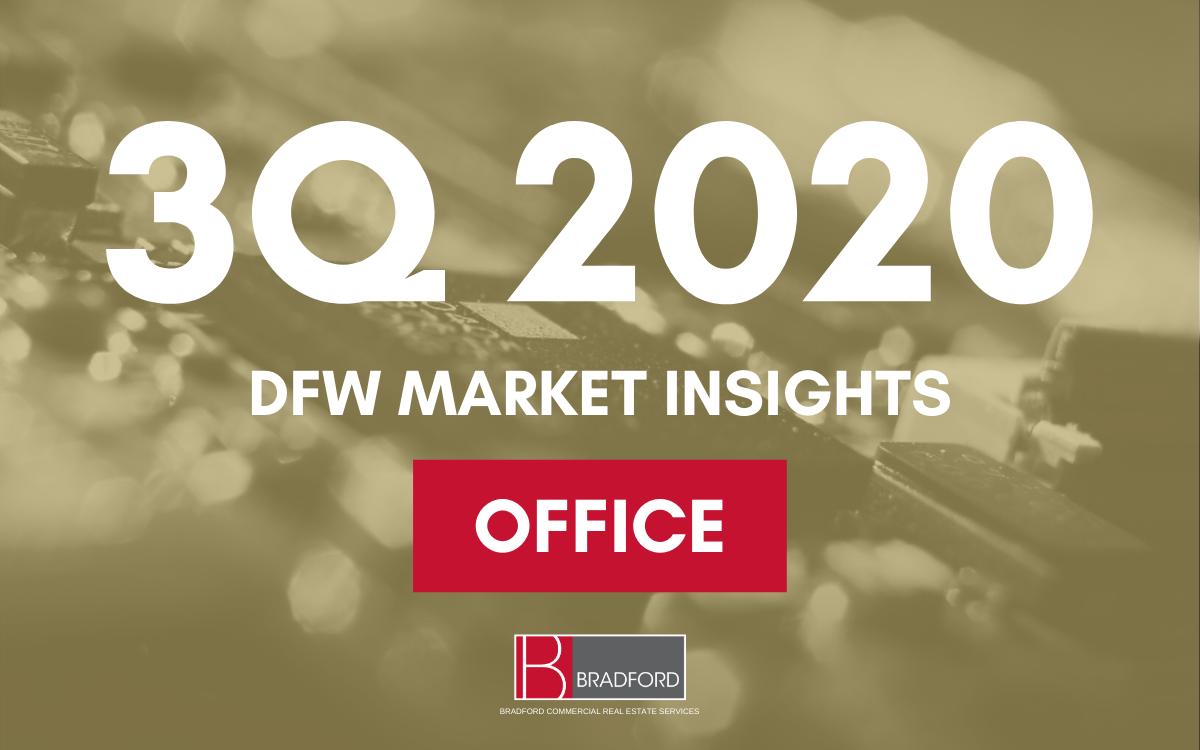 3Q 2020 DFW Office Market Update