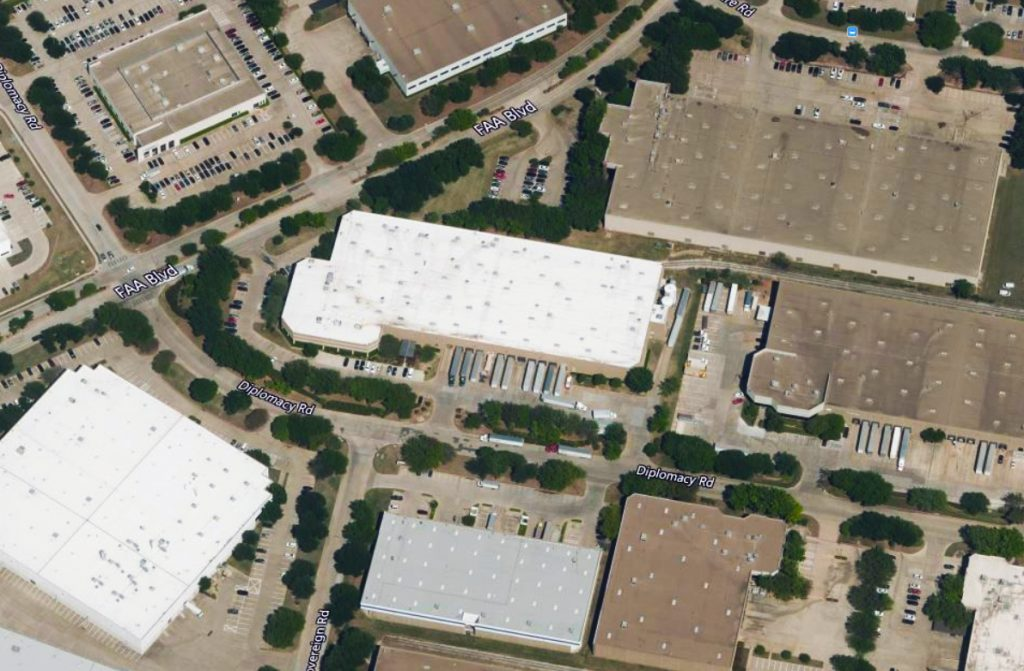 4400 Diplomacy Road, Fort Worth, Texas Aerial Image