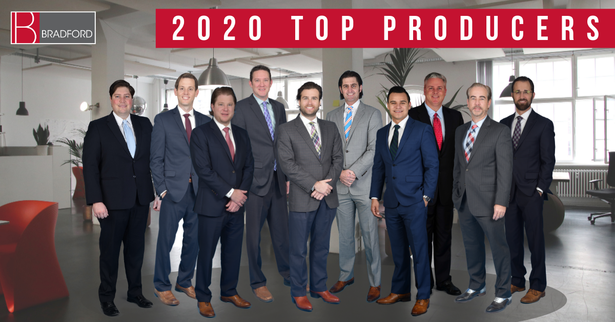 Bradford Commercial Real Estate 2020 Top Producers